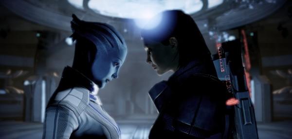 Mass Effect, Liara, Commander Shepard