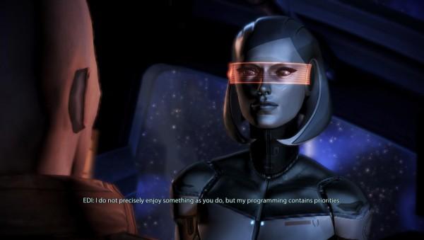 Mass Effect 3, EDI