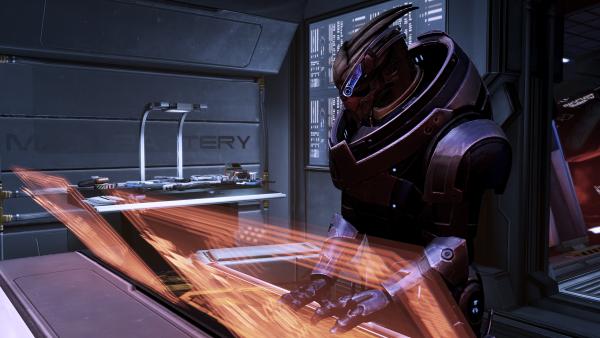 Garrus, Mass Effect