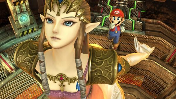 Princess Zelda, Mario, Super Smash Bros