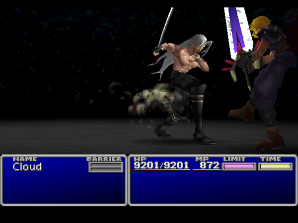 Final Fantasy VII Sephiroth_Attack