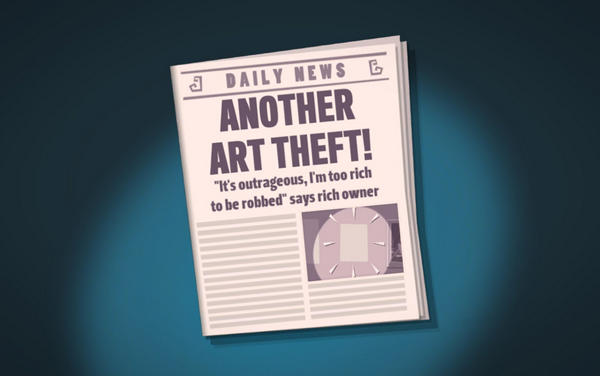 The post-heist headlines cracked me up, too.