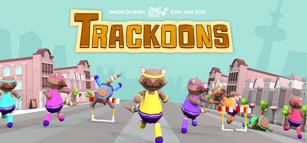 Trackoons by Andrew Carvalho (programmer), Gabby DaRienzo (artist), Maggie McLean (music), Robby Duguay (sound effects), Robert Peacock (programmer), and Yuliya Boublikova (artist)