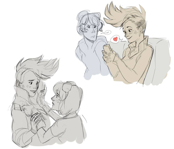 #PROJECTSOLACE Sketches
