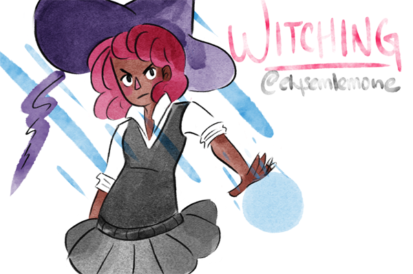 Concept Art for Witching