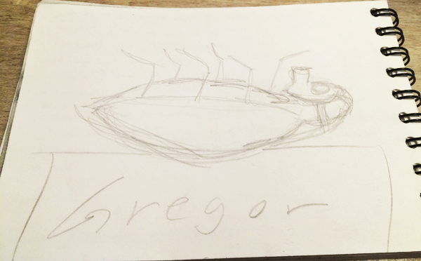 Sketches for Gregor