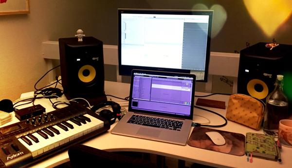 Jocelyn's recording studio