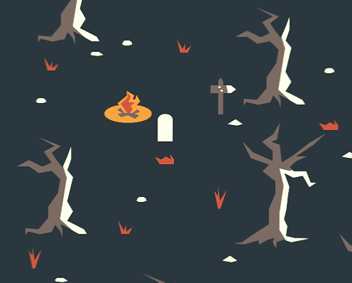 A Survival Game by Vaida Plankyte