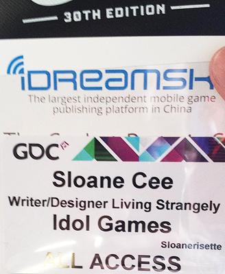 Also, my badge? Dare I say it was hella rad.