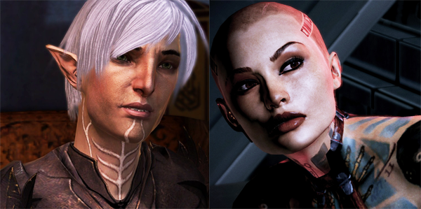 Mass Effect, Dragon Age