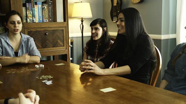 Girls Game Shelf