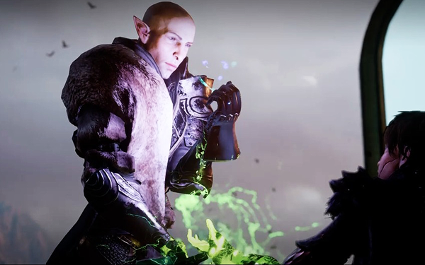 Image result for solas fighting dragon age