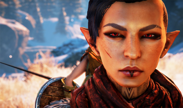 Inquisitor Lavellan by ridethefrostback