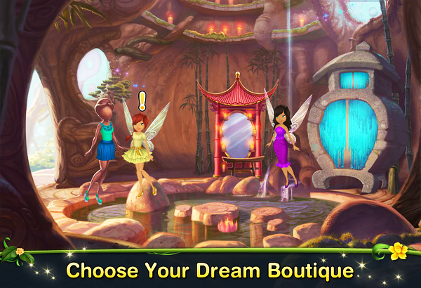 Disney Fairies Fashion Boutique by Disney Interactive Studios